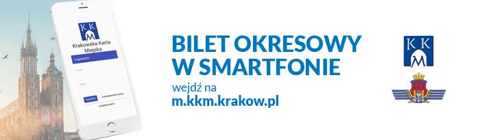 f60e549b6b18d3 Od środy, 25 października pasażerowie krakowskiej komunikacji miejskiej  będą mogli jeszcze łatwiej kupić bilet okresowy. Wystarczy urządzenie  mobilne ...